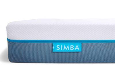 Simba Hybrid Mattress_corner front on