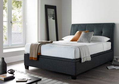 Accent Ottoman Bed, Slate