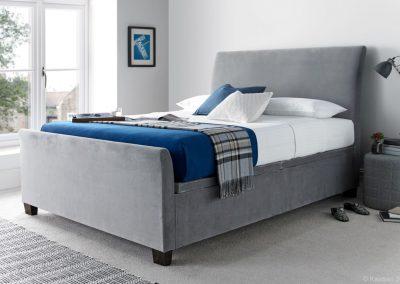 Allendale Ottoman Bed, Velvet Plume