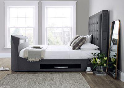 Titan Charcoal Media Bed