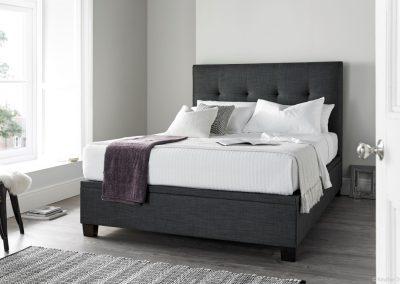 Walkworth Ottoman Bed, Slate