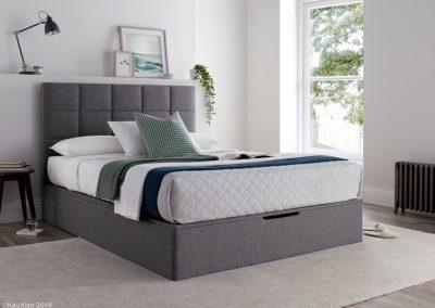 Whitburn Ottoman Bed, Platine