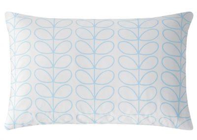 Linear Stem Neptune Blue Pillowcase Cut Out